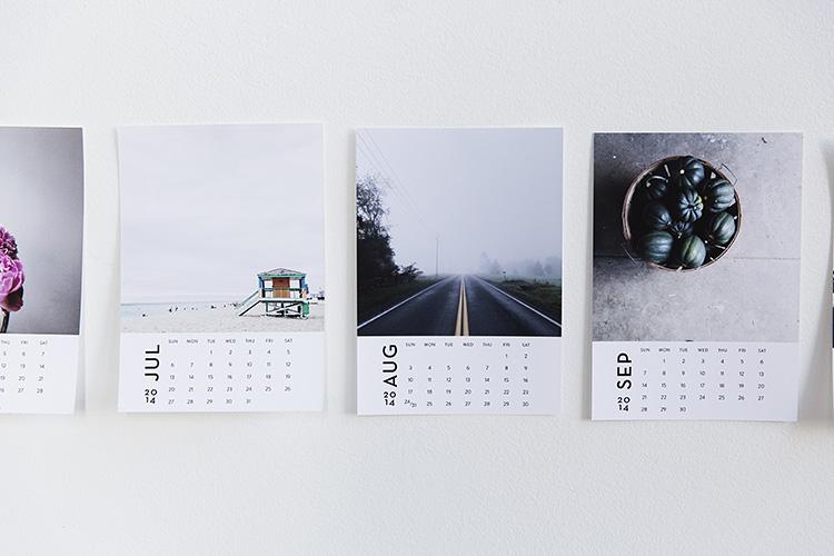 Instagram Photo Calendar For 2014