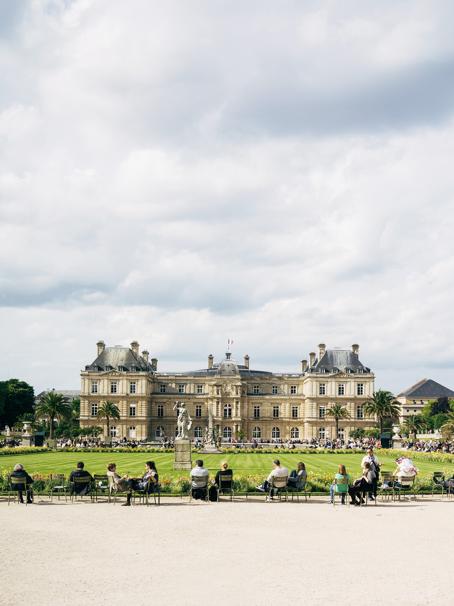 Lingered upon jardin du luxembourg for Au jardin d alice flers