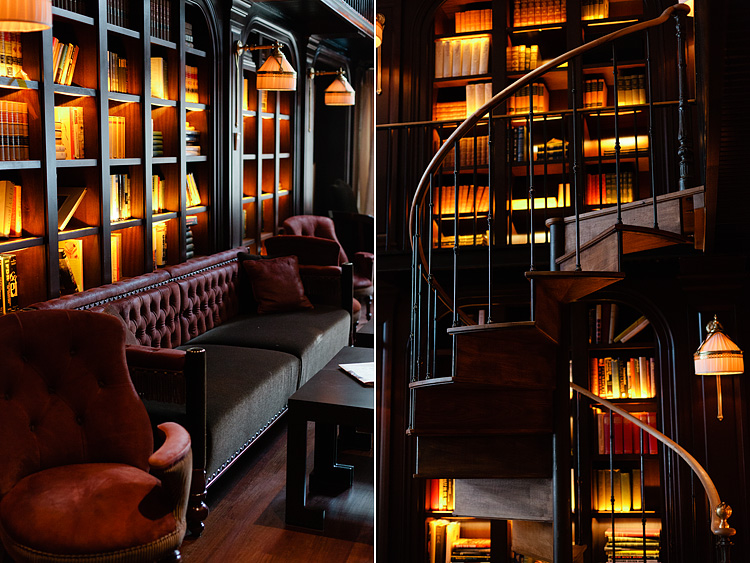 Lingered Upon The Library At The Nomad Hotel
