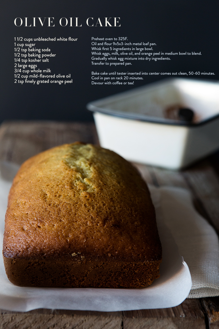 lingered upon: Olive Oil Cake