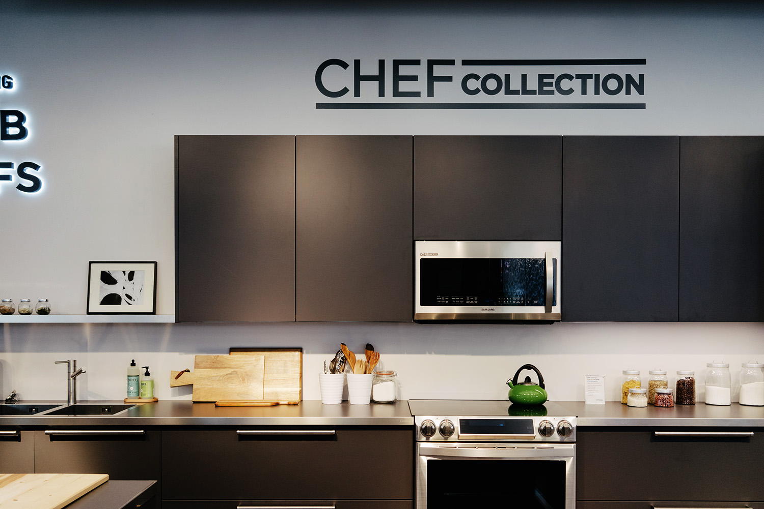 Chef Kitchen Lingered Upon Chef Collection By Samsung